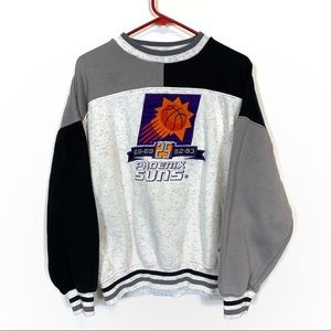 Vintage Phoenix Suns Colorblock Crewneck Sweater